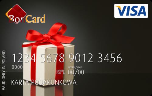 karta podarunkowa przedpłacona